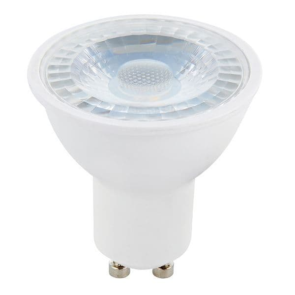 Saxby GU10 LED SMD Beam Angle 38 Degrees 6w Daylight White 78861 By Massive Lighting